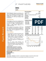 Trevali Mining - Versant Partners