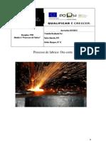 Processo de Fabrico Oxi-Corte