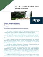 Gilmar Mendes, a Revista Veja e Lula nas táticas da mídia