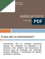Aula Aninoácidos e Peptídeos.