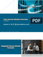 Cisco Service Module Overview