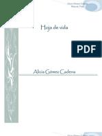 Hoja de Vida Alicia Gomez