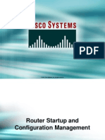 23_Router Startup and Configuration Management