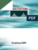 25.4 Enabling IGRP