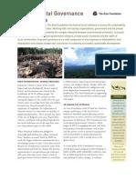 Environmental Governance Indonesia April2012