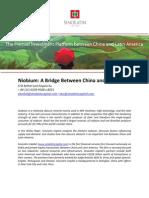 Niobium_ a Bridge Between China and Brazil