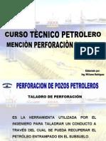 Taladros de Perforacion Tipos,Sistemas y Componentes