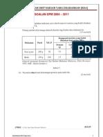 1.2e. Pengiraan Nilai Tenaga Spm 2004 - 2011