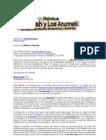 Historia de Jehovah y Los Anunnaki