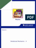 22. Rotational Mechanics-4