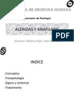 ALERGIAS Y ANAFILAXIS