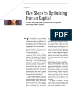 5 Steps to Optimization - Work Force