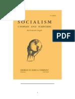 Engels. Socialism - Utopian and Scientific