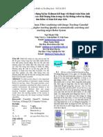 Một phương pháp sử dụng bộ lọc Kalman kết hợp với thuật toán bám ảnh Camshift nhằm nâng cao chất lượng bám trong các hệ thống robot tự động tìm kiếm và bám bắt mục tiêu