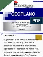 Apresentação DO GEOPLANO