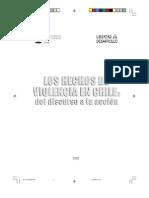 Arancibia Clavel, Patricia - Los Hechos de Violencia en Chile. Del discurso a la Acción