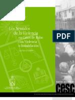 Barros,  Luis - Los sentidos de la Violencia en casos de robo con violencia o intimidación