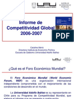 eClass - InN 1.3 Informe de Competitividad Global 2006-2007. World Economic Forum Catalina Mertz