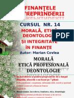 Curs 14 Morala Etica Deontologie