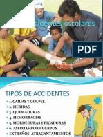 Accidentes escolares