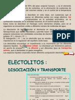 electrolitosdisociacion