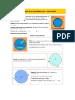 Elementos de La Circuferencia y Del Circulo