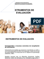 PRESENTACIÓN DE INSTRUMENTOS DE EVALUACION PARA EL COTIDIANO CD