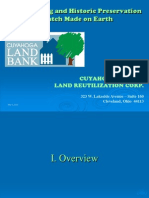 Historic Preservation and Land Banking