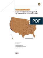 Sexual Victimization Reported by Former State Prisoners, 2008