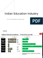 Indian Education Industry