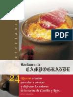 Recetario castellano
