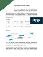 Estándares de conexión LAN da la IEEE