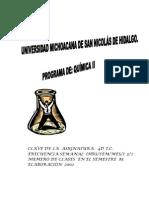 Temario Qimica Organica Preparatoria Umsnh