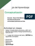 Clase 1 Conceptualizacion de Aprendizaje 2012 (1)