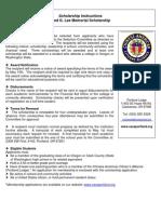 12 Fred G Lee_Scholarship & Membership App
