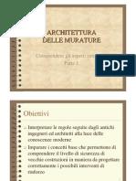 Aspetti Strutturali Dell'Architettura in Muratura