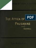 Attica of Pausania