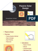Passive Solar Design 90pages
