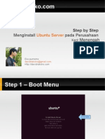 Step by Step Install Ubuntu Server