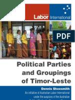 Timor-Leste Political Parties ALP Int. Projects