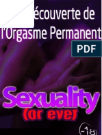 A la decouvert de l'Orgasme Permanent