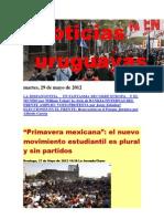 Noticias Uruguayas Martes 29 de Mayo Del 2012