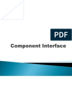 Component Interface