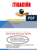 Investigacion cientifica marzo 2012