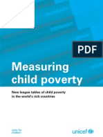 Report Card 10 Measuring Child Poverty