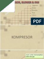 Compressor, Blower & Fan