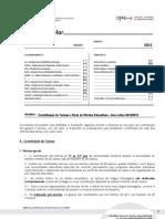 DREN-Constituição de Turmas e Rede de Ofertas Educativas - Ano Letivo 2012/2013