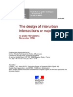 Design of Interurbain Intersections