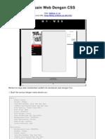 Desain Web Dengan CSS