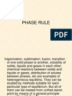 Phase Rule